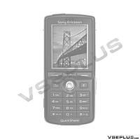 Корпус Sony Ericsson K750, черный, high copy