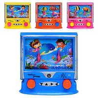 Игра водяная M 0961 (360шт) компьютер, 4 цвета, в кульке, 9-9см