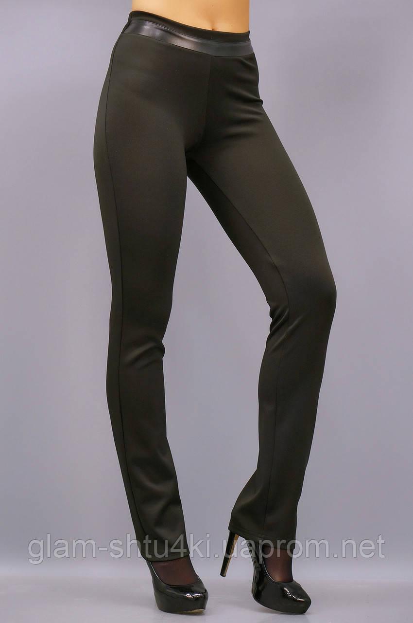 Никки. Женские брюки больших размеров утепленные. Черный. -  Интернет-магазин