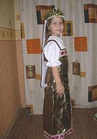 Карнавальный костюм русской красавицы прокат. Костюм Аленушки прокат, фото 1