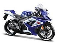 Мотоцикл іграшковий в асорт., масштаб 1:12 ( 31101-17 Yamaha YZF-R1)