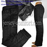 Утепленные женские брюки. Плащевка на силиконе., фото 5