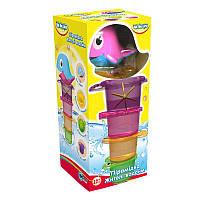 Пирамидка-стаканчики для ванной 'Жители водоемов', 5 элементов,1+,укр.упаковка