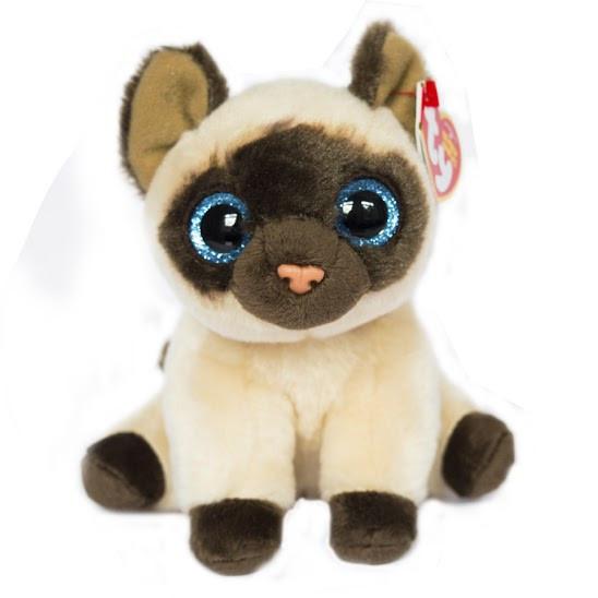 Мягкая игрушка Beanie Babies Сиамская кошка