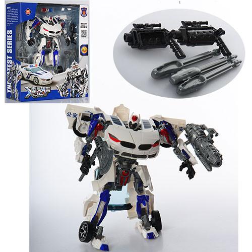 Трансформер 8820B  23см, робот-машинка, оружие, в кор-ке, 30-36,5-12,5см