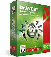 Dr. Web Security Space, цифровая лицензия, на 2 ПК на 1 год ESD - электронная лицензия