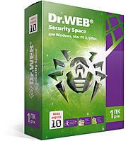 Dr. Web Security Space, цифровая лицензия, на 12 месяцев, на 1 ПК  ESD - электронная лицензия