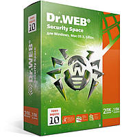 Dr. Web Security Space, цифровая лицензия, на 24 месяца, на 2 ПК ESD - электронная лицензия