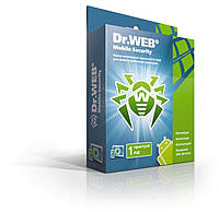 Dr.Web Mobile Security, на 1 устройство, на 12 месяцев  ESD - электронная лицензия