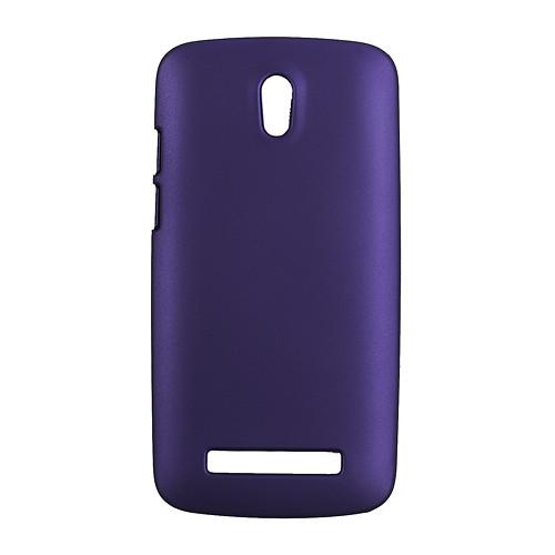 Чехол пластиковый матовый на HTC Desire 500 506e, фиолетовый