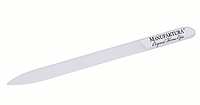 Пилочка маникюрная стеклянная прозрачная 135 мм
