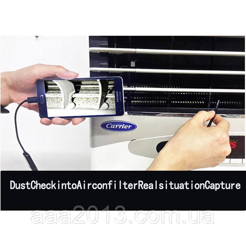Эндоскоп бороскоп USB web камера (АНДРОИД OTG) глазок наблюдения 2м