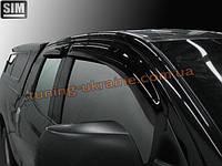 Дефлекторы боковых окон Sim для Toyota Tundra пикап 2007-13/2014+