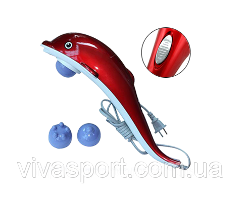 Ручной массажер для тела Dolphin Дельфин Киев Красный