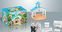 "Набор ""Свадьба"" Happy Family (аналог Sylvanian Families) арт 012-09"