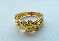 Золотое кольцо головоломка «Цветок» от WickerRing