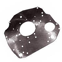 Лист задний 245-1002313-Б-02 (плита под стартер)