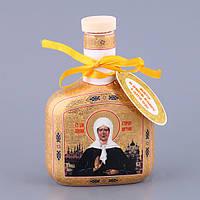 """Бутылка для святой воды (масла) 0,250 л. """"Святая Матрона Московская"""" религиозная тематика"""