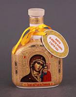 """Бутылка для святой воды (масла) 0,250 л. """"Казанская Богоматерь"""" религиозная тематика"""