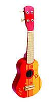 HAPE Гитара красная  (Е0316), фото 1