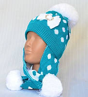 Детская шапка на флисе