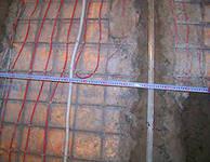 Устройство тёплого пола(провода,установка регулятора)