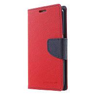Book Cover Goospery Samsung I9300 Red