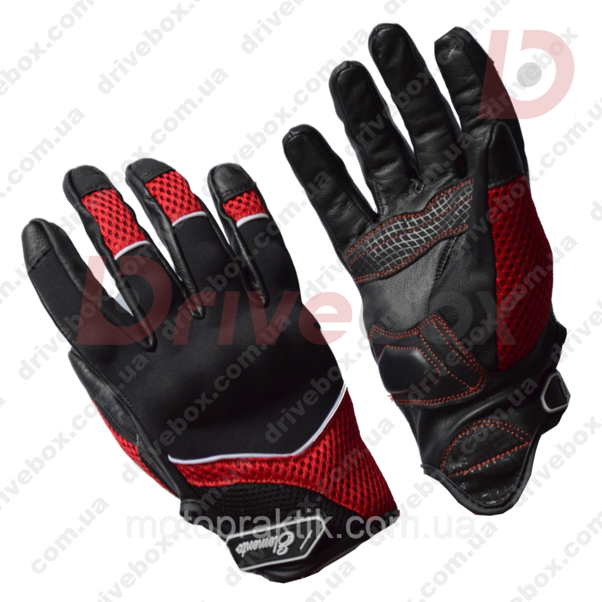 Elemento 192 Free Ride Gloves Blk/Red, L Мотоперчатки дорожные