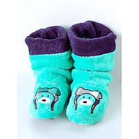Тапочки-сапожки махровые детские  для дома Турция, фото 1