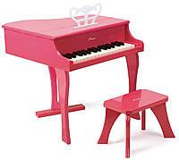 HAPE Розовое фортепиано со стульчиком (Е0319)