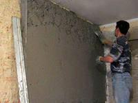 Штукатурка цементно-песчаным раствором в Херсоне
