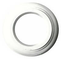 Гипсовый декор - круг, кольцо под люстру.  Потолочная розетка без узора d-562