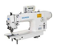 Прямострочная швейная машина челночного стежка с двойной подачей материала и прямым приводом MAQI LS 0303D