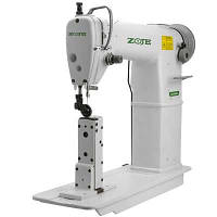 Одноигольная швейная машина челночного стежка с платформой колонкового типа ZOJE ZJ 24028-1