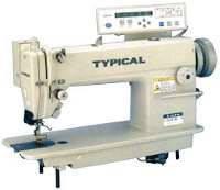 Одноигольная швейная машина с нижним транспортом Typical GC6180ME2