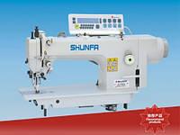 Швейная машина челночного стежка с двойной подачей материала и прямым приводом Shunfa SF0303D