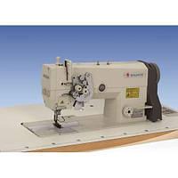 Беспосадочная прямострочная двухигольная швейная машина SHUNFA SF 842-M
