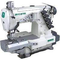 Трехигольная пятиниточная плоскошовная швейная машина ZOJE W-662-1