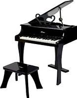 HAPE Черное фортепиано со стульчиком (Е0320)