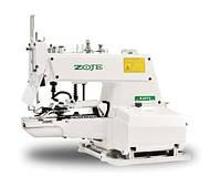 Пуговичная полуавтоматическая швейная машина однониточного цепного стежка ZOJE ZJ-373