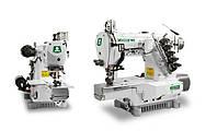 Трехигольная пятиниточная швейная машина с цилиндрической платформой ZOJE ZJC2503-156M