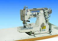 Пятиниточная плоскошовная швейная машина с цилиндрической платформой SHUNFA SF 662-01