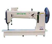 Одноигольная швейная машина челночного стежка с нижним и верхним транспортёром ZOJE ZJ4-6
