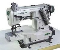 Трехигольная пятиниточная швейная машина с цилиндрической платформой ZOJE ZJC2521-156M