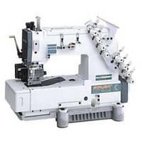 Трехигольная швейная машина цепного стежка для бокового шва Siruba HF008-03064 P/HTF