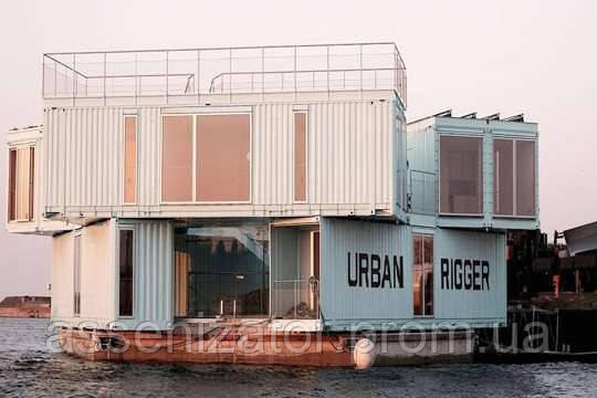Студентов поселят в плавучих общежитиях