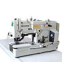 Петельная полуавтоматическая швейная машина  челночного стежка ZOJE ZJ782