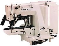 Закрепочная полуавтоматическая швейная машина  челночного стежка Typical GT680-011