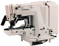 Закрепочная полуавтоматическая швейная машина челночного стежка Typical GT680-022