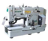 Петельная полуавтоматическая швейная машина  челночного стежка ZOJE ZJ784